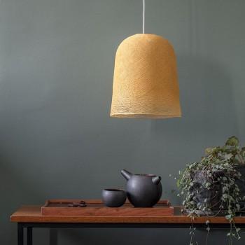 Lamp Jupe mosterd met het licht uit