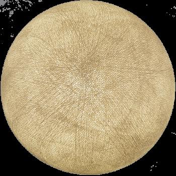 Globe sable allumé