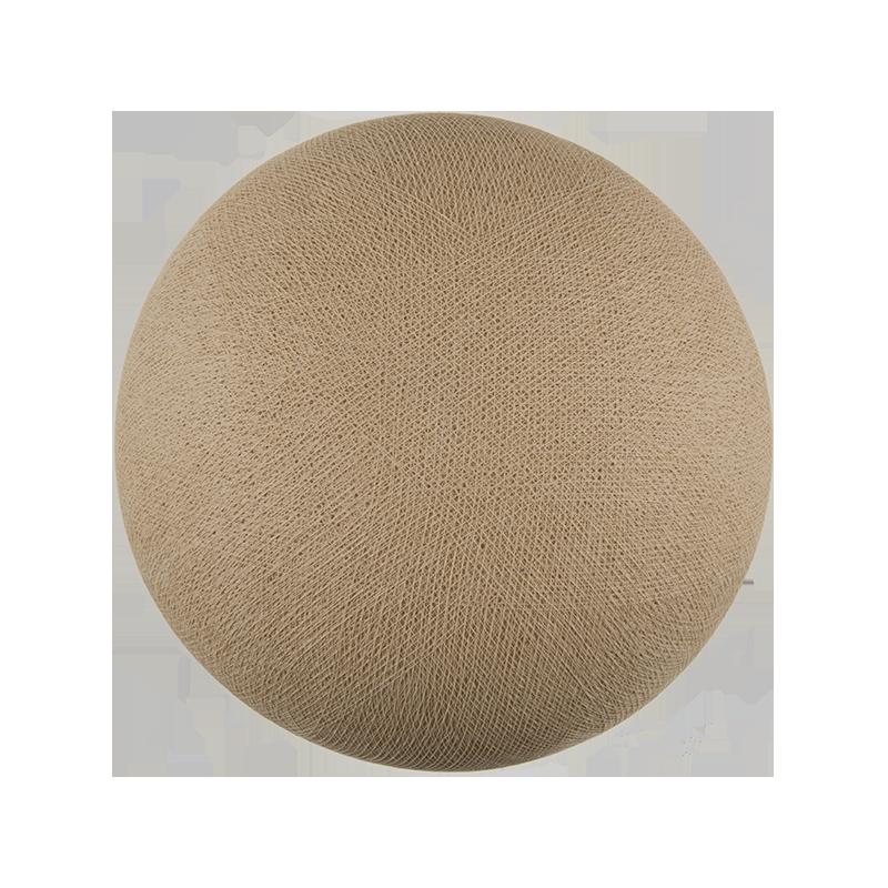Globe sable éteint