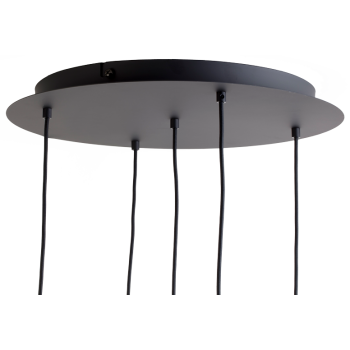 Ceiling fixture 5 Matte anthracite grey
