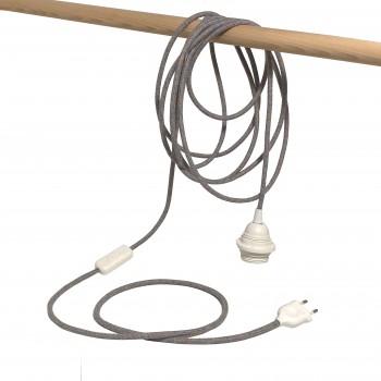"Mobile hanging fixture ""chinée pastel"""