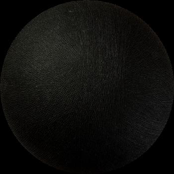 Globe noir éteint