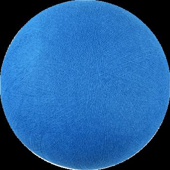 Globe bleu roi éteint