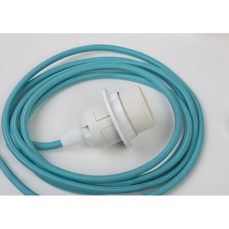 Suspension simple - Turquoise 250 cm