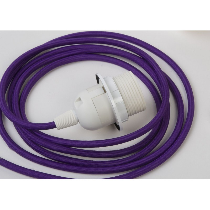 Suspension simple - Violet 250 cm