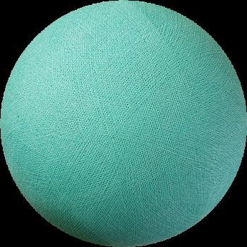 Globe vert d'eau éteint