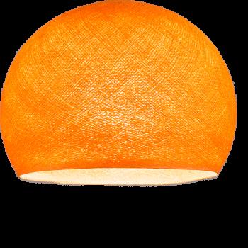 abat jour coupole orange la case de cousin paul. Black Bedroom Furniture Sets. Home Design Ideas