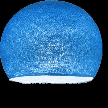Coupole bleu roi allumée
