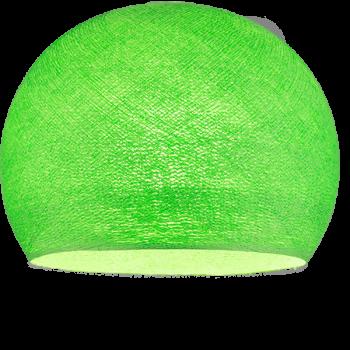 Coupole vert flash allumée