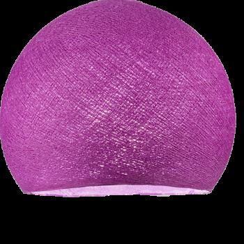Coupole violet cardinal allumée