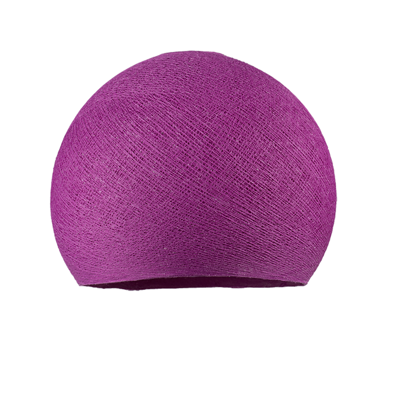 abat jour coupole violet cardinal la case de cousin paul. Black Bedroom Furniture Sets. Home Design Ideas