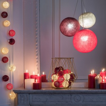 guirlande lumineuse rouge LEDS clipsables Angus