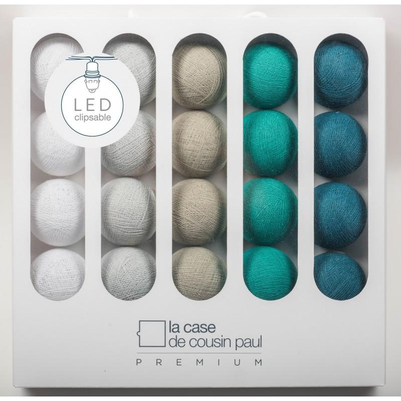luminaire 3 coupoles blue night la case de cousin paul. Black Bedroom Furniture Sets. Home Design Ideas
