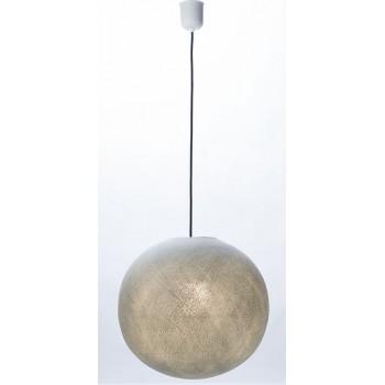 sospensione a una sfera e cavo tessile nero