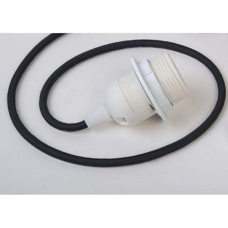 Suspension luminaire simple - Noir