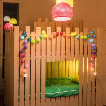 guirlande lumineuse multicolore LEDS clipsables Jimi