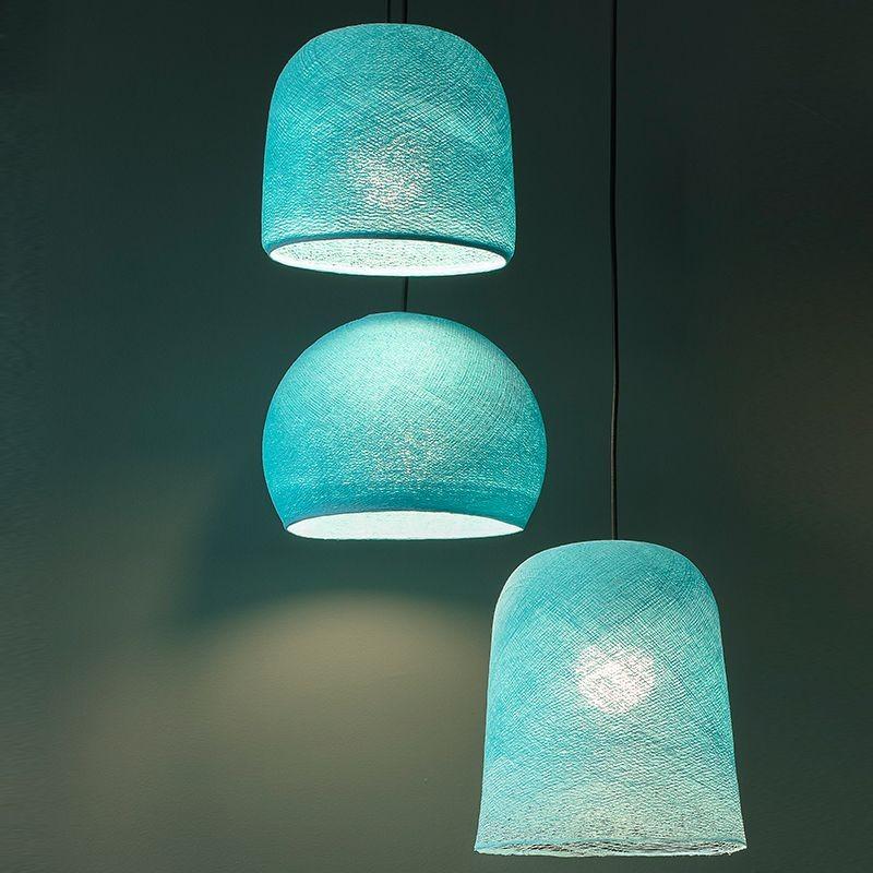 fertige leuchten suspension plafonnier 3 aqua la case de cousin paul. Black Bedroom Furniture Sets. Home Design Ideas