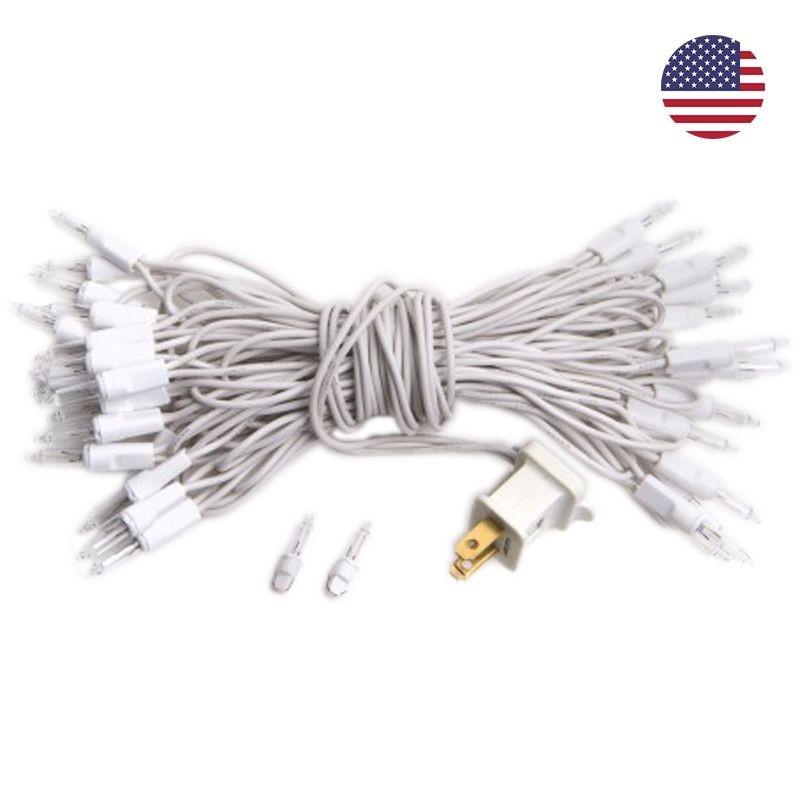 L\'original zubehör Girlanden l\'original 35 glühbirnen weiβes kabel ...