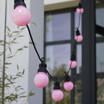 coffret guirlande LED guinguette litchi