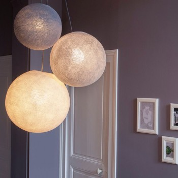 suspension luminaire globes