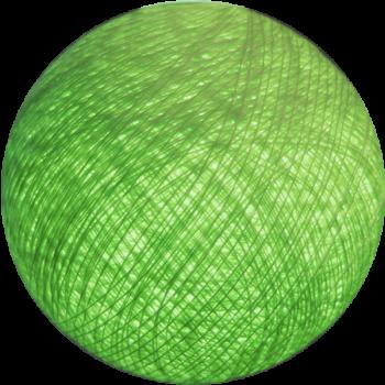 boule lumineuse couleur vert amande gamme outdoor la case de cousin paul. Black Bedroom Furniture Sets. Home Design Ideas