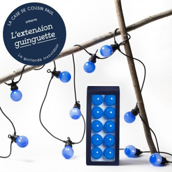 extension guirlande LED guinguette Myrtille