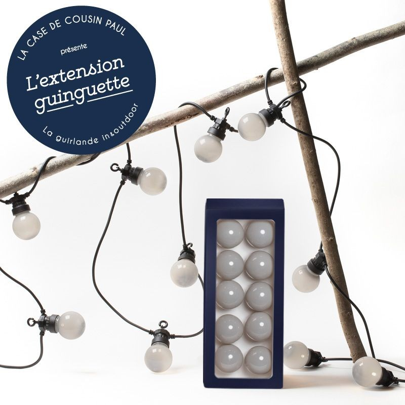 extension guirlande LED guinguette Granit
