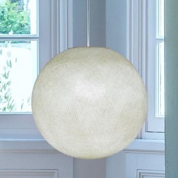 Globe ivoire allumé