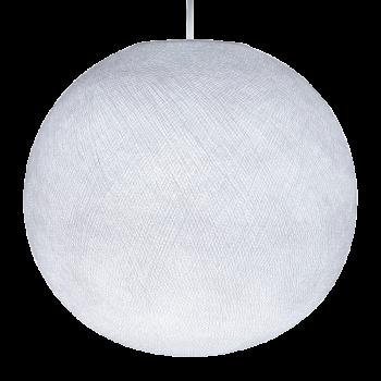 Globe blanc allumé