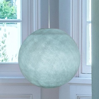 Globe azur allumé