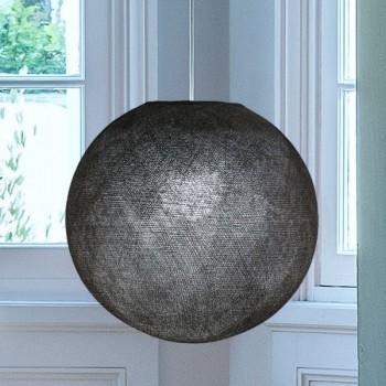 Globe graphite allumé