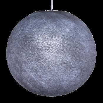 Globe gris lilas allumé