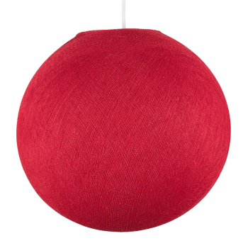 Globe rouge éteint