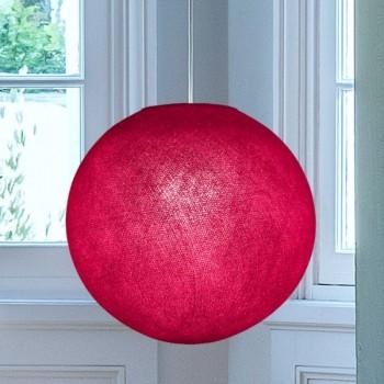 Globe framboise allumé