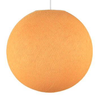 Globe orange clair éteint