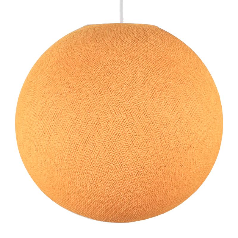 Globe orange clair éteint