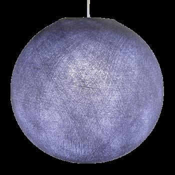 Globe lavande allumé