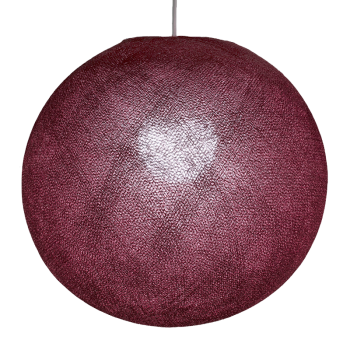 Globe prune allumé