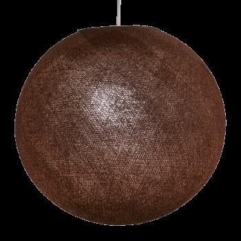 Globe marron cuivré allumé