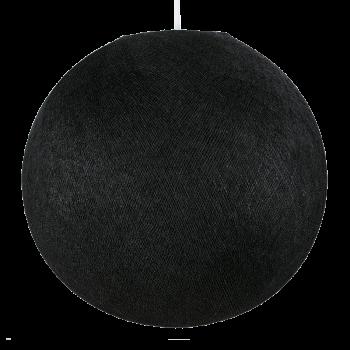 Abat jour globe noir éteint