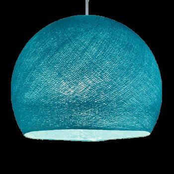 Coupole turquoise allumée