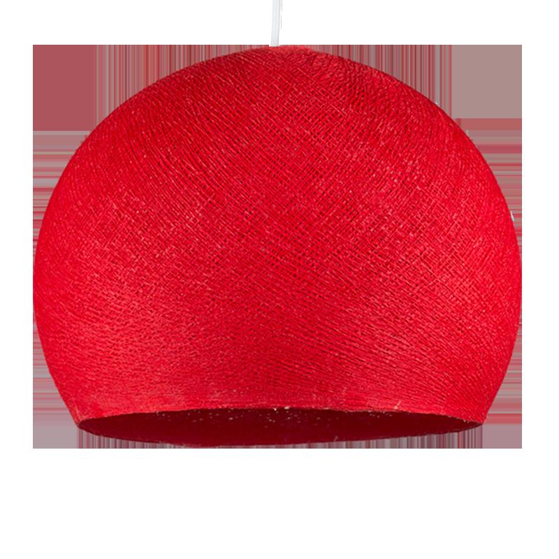 abat jour coupole rouge la case de cousin paul. Black Bedroom Furniture Sets. Home Design Ideas