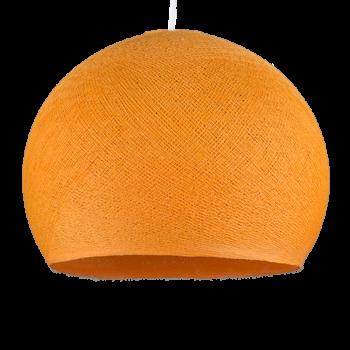 Coupole Orange clair éteinte