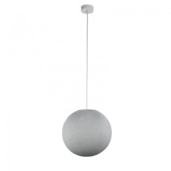 Pack suspension simple globe M gris perle