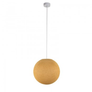 Pack suspension simple globe M moutarde