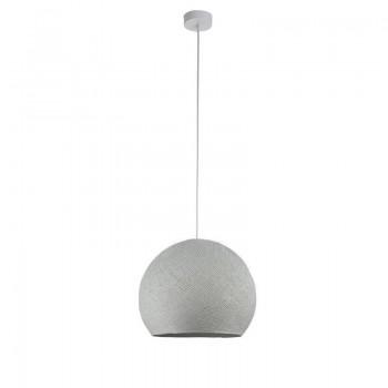 Pack suspension simple coupole M gris perle