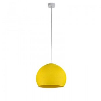 Pack suspension simple coupole M jaune