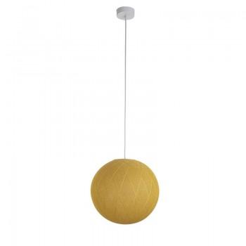 Pack suspension simple Art Déco moutarde