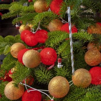 guirlande lumineuse composition Noël Grelot