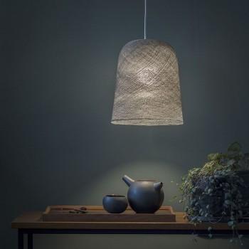 Lamp Jupe grafiet met het licht aan